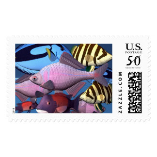 Fishes Postage