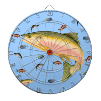 Fishes school dart boards