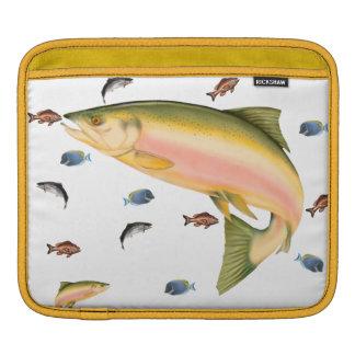 Fishes school iPad sleeve