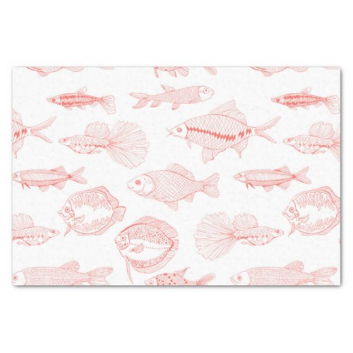 Fishes Tissue Paper