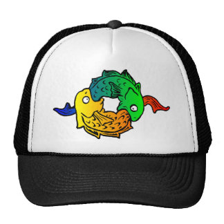 Fishes Trucker Hats