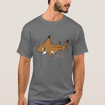 Beach Themed Fishfry designs Hammerhead Uni-sex T-Shirt