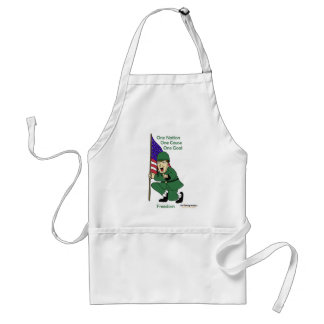 Fishfry designs One phrase apron