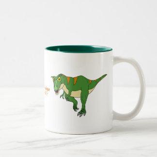 Fishfry diseña la taza de café del dinosaurio