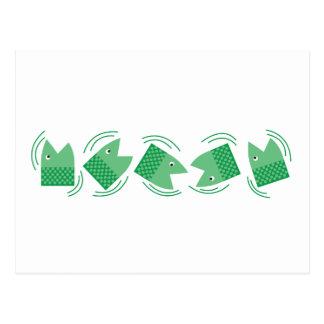 Fishheads Tarjeta Postal