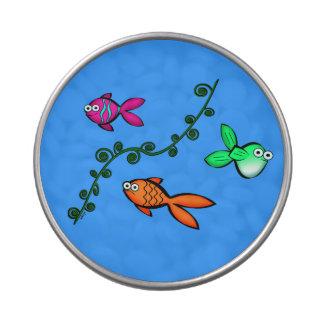 Fishies de Charlie Frascos De Dulces