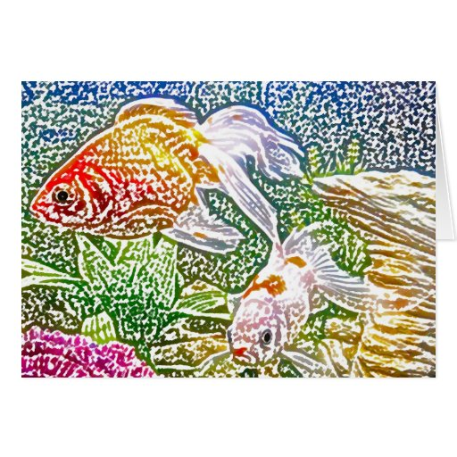 Fishies Stationery Note Card