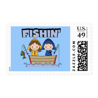 Fishin' Boat T-shirts and Gifts Postage