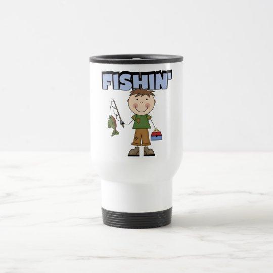 Fishin' Boy Tshirts and Gifts Travel Mug
