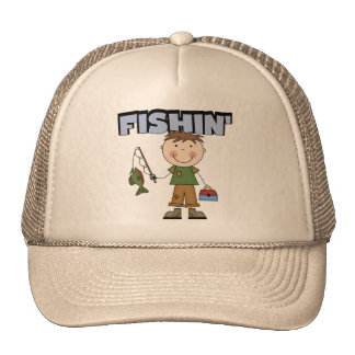 Fishin' Boy Tshirts and Gifts Trucker Hat