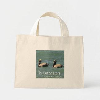 Fishin Buddies; Mexico Souvenir Mini Tote Bag