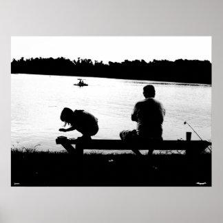 Fishin con el abuelo posters