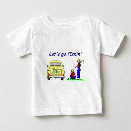 Fishin Pickup Fisherboys Baby T-Shirt