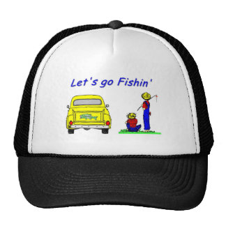 Fishin Pickup Fisherboys Trucker Hat