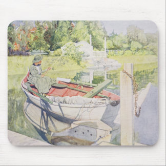 Fishing, 1909 mouse pad