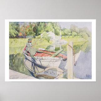 Fishing, 1909 poster