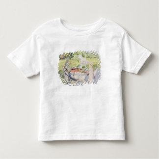 Fishing, 1909 toddler t-shirt