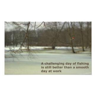 Fishing 1 photo print