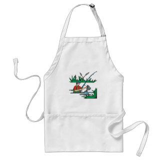 Fishing 2 adult apron