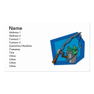 Fishing 3 business card