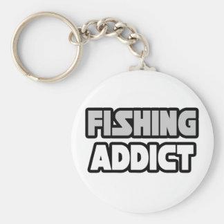 Fishing Addict Keychain