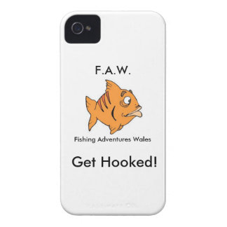 Fishing Adventures Wales FAW Get Hooked BBC Case-Mate iPhone 4 Case