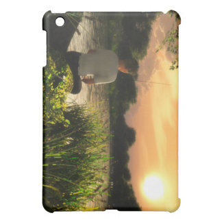Fishing Alone iPad case