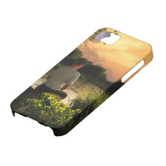 Fishing Alone iPhone5 case