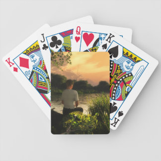 Fishing Alone Playing Cards