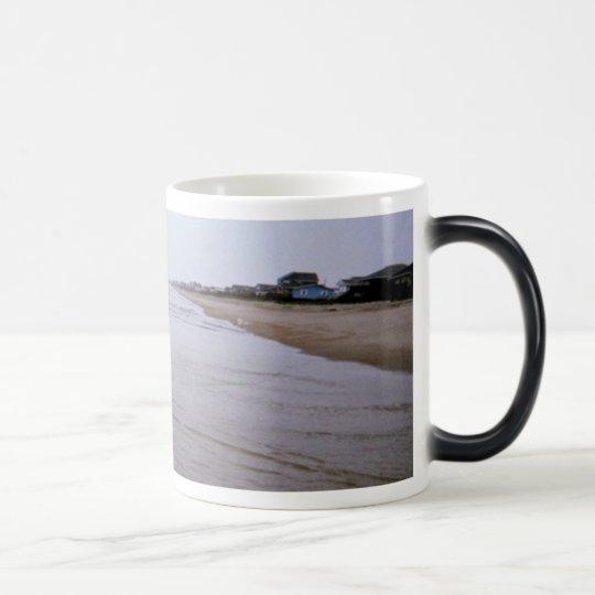 Fishing Along Oak Island Morphing Mug