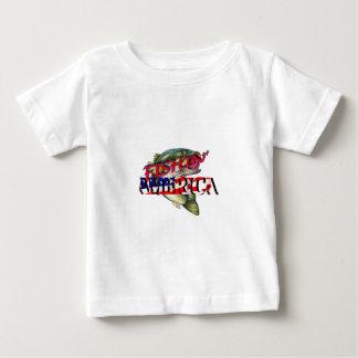Fishing America Baby T-Shirt