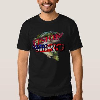 Fishing America T Shirt
