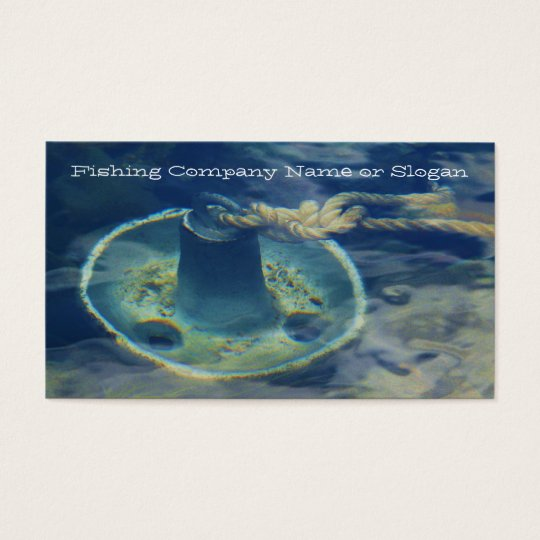Fishing Anchor Fisherman Supply Business Card