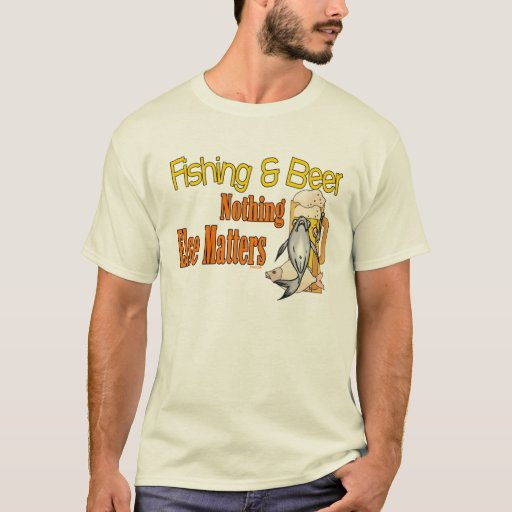 Fishing and Beer Fishing Shirt