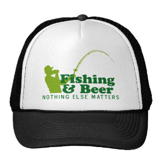 Fishing and Beer Trucker Hat