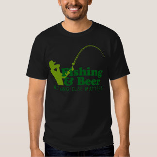 Fishing and Beer T Shirt