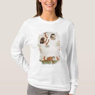 Fishing and fowling in the marshes T-Shirt