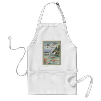 Fishing and Hunting along the North-Western Line Adult Apron