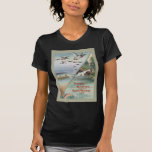 Fishing and Hunting along the North-Western Line T-shirt