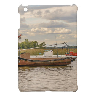 Fishing and Sailboats at Santa Lucia River in Mont iPad Mini Cover