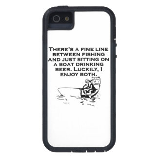 Fishing And Sitting In A Boat iPhone 5 Covers