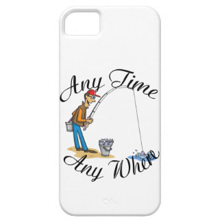 Fishing any time iPhone SE/5/5s case