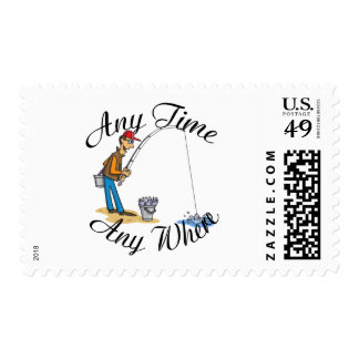 Fishing any time postage