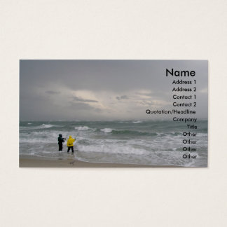 Fishing at Diamond Shoals Business Cards