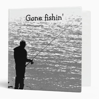 Fishing at the Lake Vinyl Binders