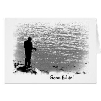 Fishing at the Lake Greeting Card