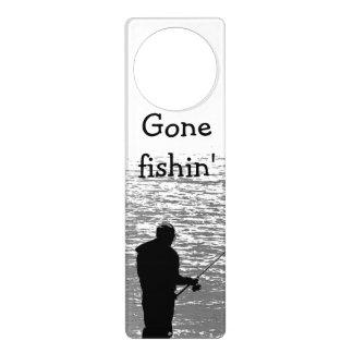 Fishing at the Lake Door Hanger