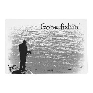 Fishing at the Lake Laminated Placemat