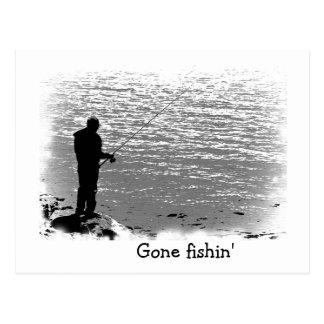 Fishing at the Lake Postcard