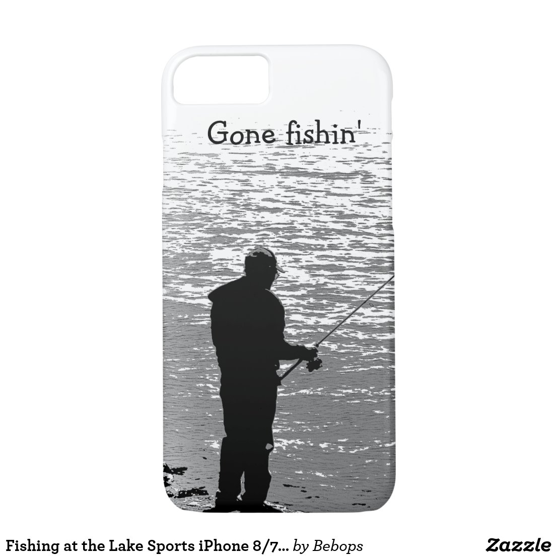 Fishing at the Lake Sports iPhone 7 Case